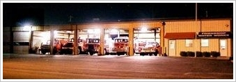 station 9 at night